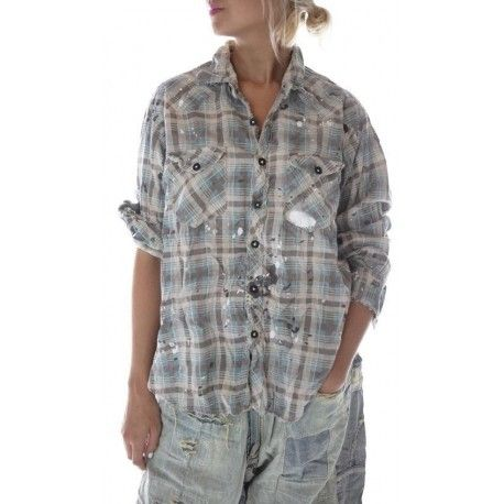 chemise Kelly Western in Shirley