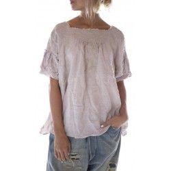 blouse Keldan in Lilac Water