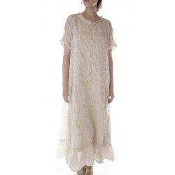 dress Ramie Anna Grace in Antique White