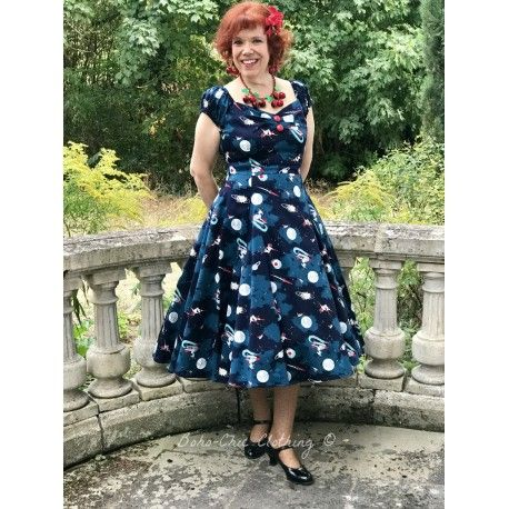 dress Dolores Space Pin Up