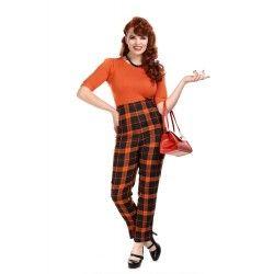 pantalon Bonnie Pumpkin Check