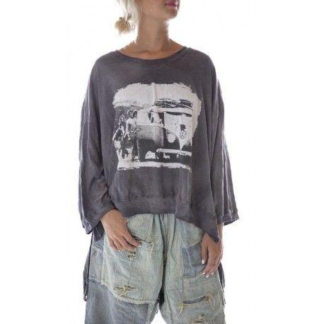 T-shirt Hi Lo Baja Surf Francis in Ozzy