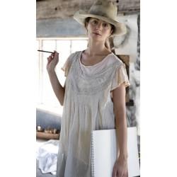 dress Minette in Antique White