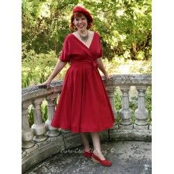 dress Caricia Red