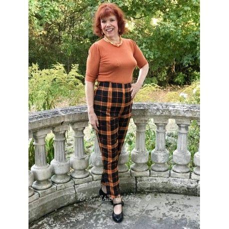 pants Bonnie Pumpkin Check