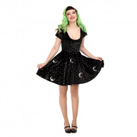 dress Lila Midnight Moon Velvet
