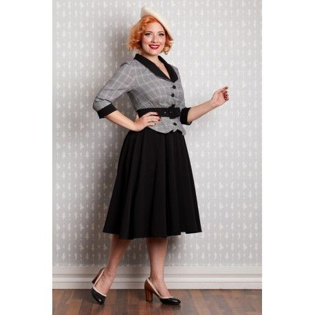 robe Dalma Grey & Black