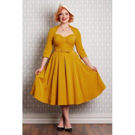 dress Naila Mustard Miss Candyfloss - 1