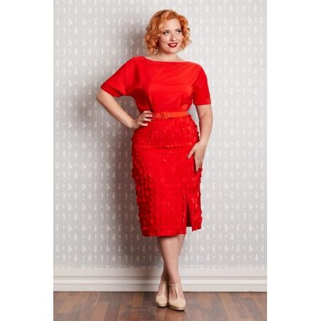 dress Anika Red