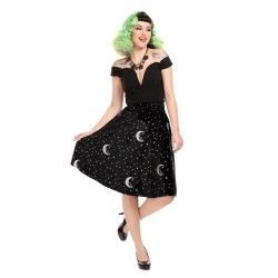 jupe Mattie Midnight Moon Velvet
