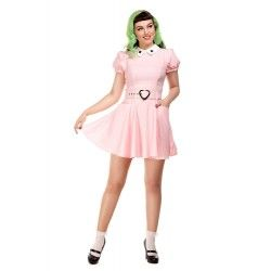 dress Bunny Heart Pink