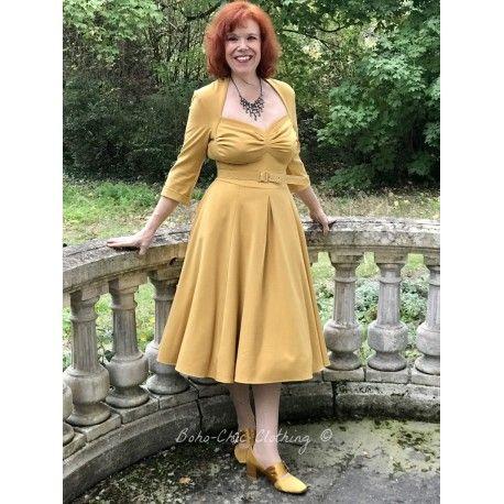 robe Naila Mustard