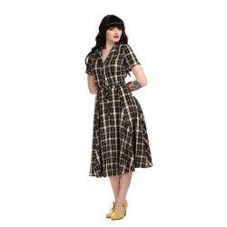 dress Caterina Geek Check