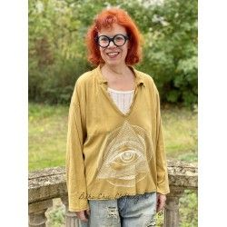 pullover Eye Of Eternity Tory in Marigold