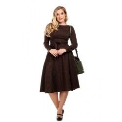 dress Arwen Woodland Pine Check
