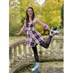 dress Rochelle Candy Check Collectif - 1
