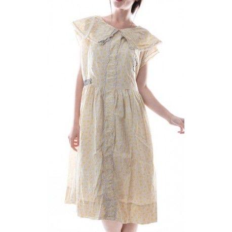 dress Elise in Honey Comb