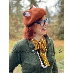 beret Foxy Burnt orange