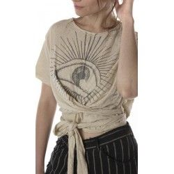 Wrap T-shirt Eye Of Providence in Moonlight