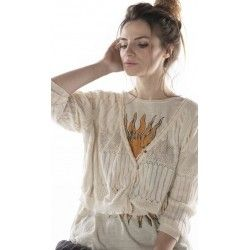 sweater Hadley in Antique white