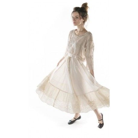 skirt You Are My Soul Shine in Moonlight Magnolia Pearl - 1