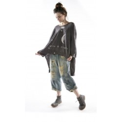 pullover Oversized Hi Lo Moon and Stars Francis in Ozzy