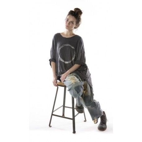 pull / sweat Oversized Hi Lo Salvador Francis in Ozzy