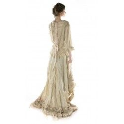 dress Hyacinth in Antique White
