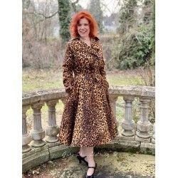 trench Scarlett Leopard