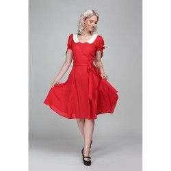 robe Mirella Rouge