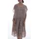 dress Maja in Tory Dot Magnolia Pearl - 15