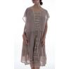 robe Maja in Tory Dot Magnolia Pearl - 15