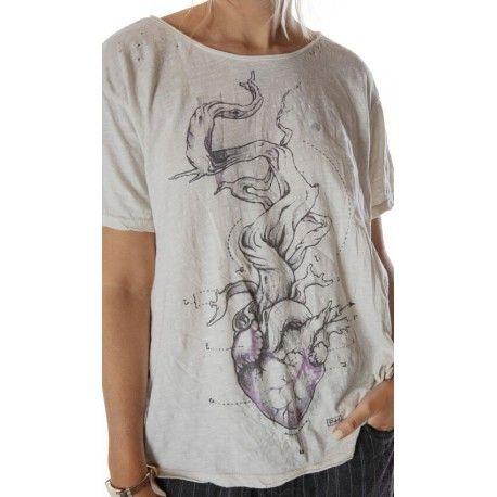 T-shirt Tree of Love in Moonlight