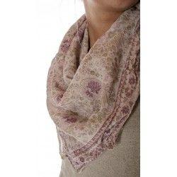 scarf Golden Poppy