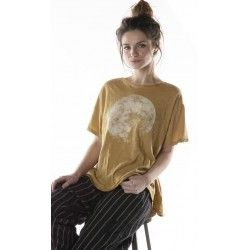 T-shirt Moon in Marigold