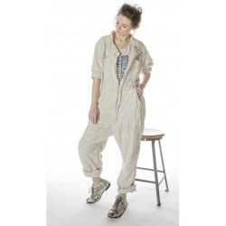 jumper Eyelet Patchwork MP Workwear in Moonlight