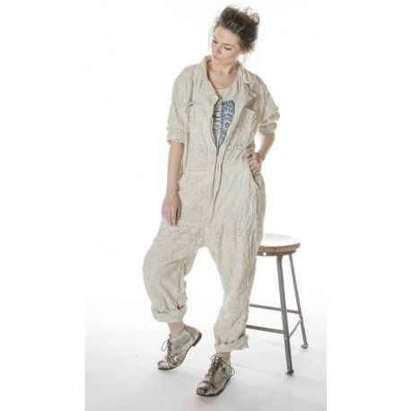combinaison Eyelet Patchwork MP Workwear in Moonlight