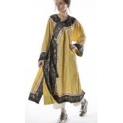 oriental coat Miggy in Marigold