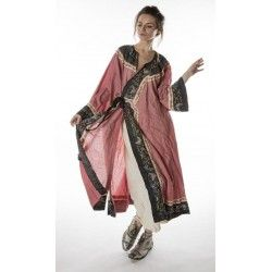 oriental coat Miggy in Faded Beet