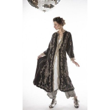coat Oleary in Charcoal Magnolia Pearl - 1