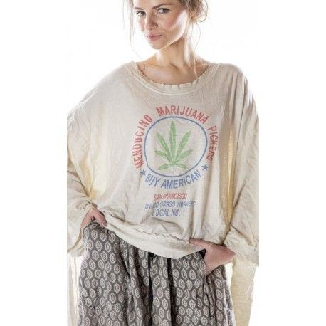 pull Oversized Hi Lo Medicino Pickers Francis in Moonlight