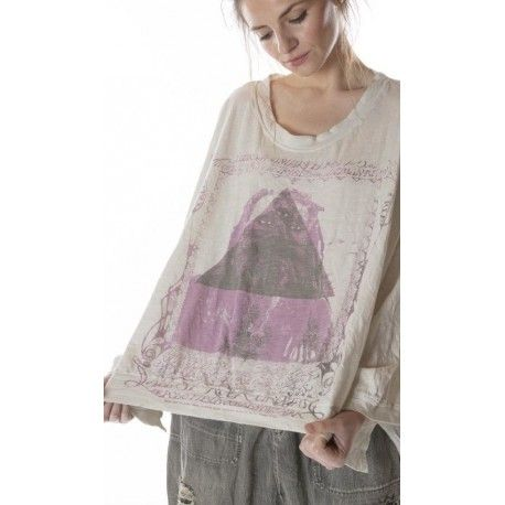 pullover Oversized Hi Lo Sufi Francis in Moonlight