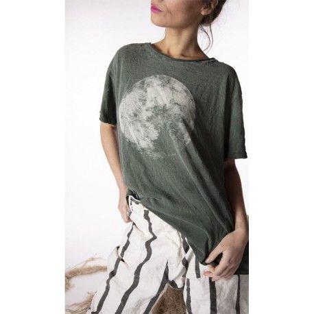 T-shirt Moon in Verdure
