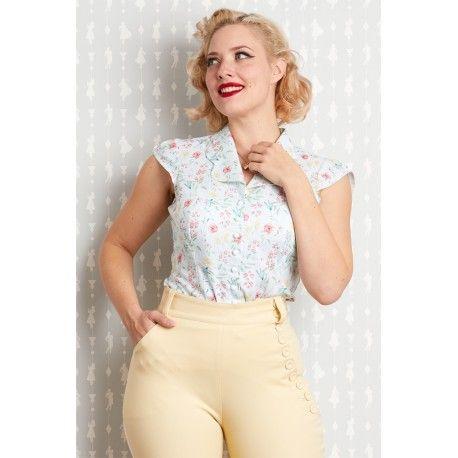 blouse Daya Minty Miss Candyfloss - 1