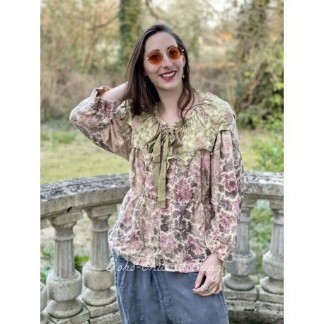 jacket – blouse Vesper in Flora