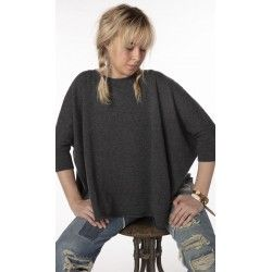 pull Boxy in Charcoal