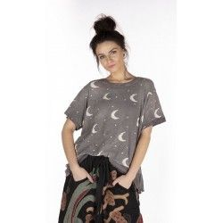 T-shirt Crescent Moon and Stars in Ozzy