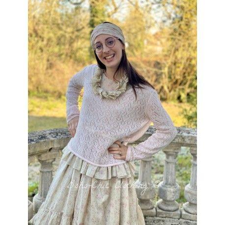 pullover PAULA pink woolen