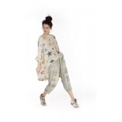 pullover Oversized Hi Lo Francis in Clouseau
