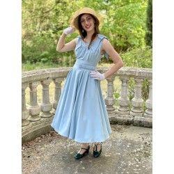 robe Larisa Sky